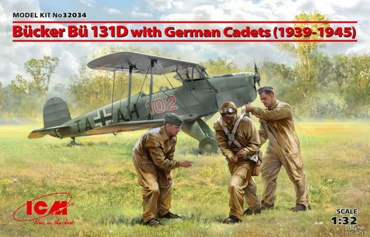 Bucker Bu-131D with German Cadets 1/32