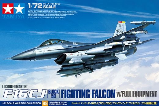 F-16CJ [Block 50] w/FULL EQUIPMENT 1/72