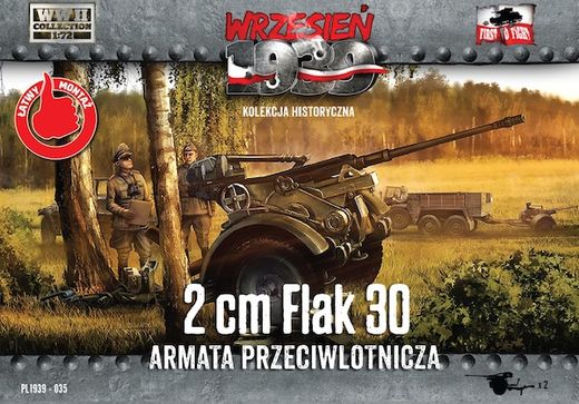 German 2 cm Flak 30 anti-aircraft gun (x2) 1/72