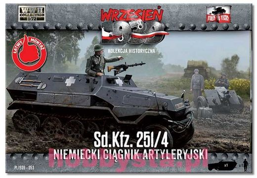 Sd.Kfz 251/4 German Half-track 1/72