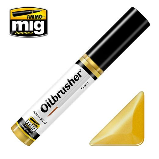 GOLD OILBRUSHER