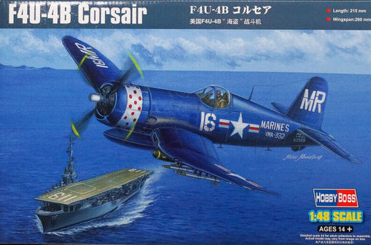 F4U-4B Corsair Korean War 1/48