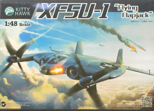 "Vought XF5U ""Flying Flapjack"" 1/48"