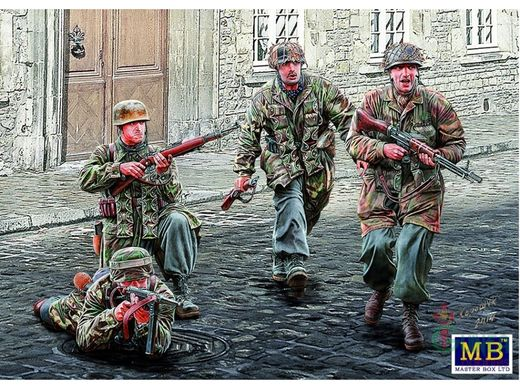 WW2 German Paratroopers 1/35