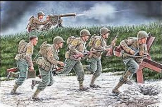 US Soldiers, Operation Overlord 1944 1/35