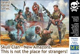 Skull Clan - New Amazons. This is not the place for strangers. 1/35