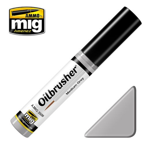 MEDIUM GREY OILBRUSHER