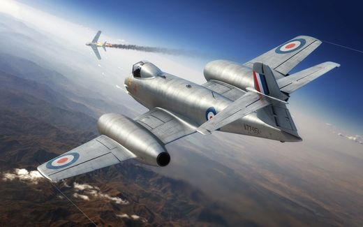 Gloster Meteor F.8 Korean War 1/48