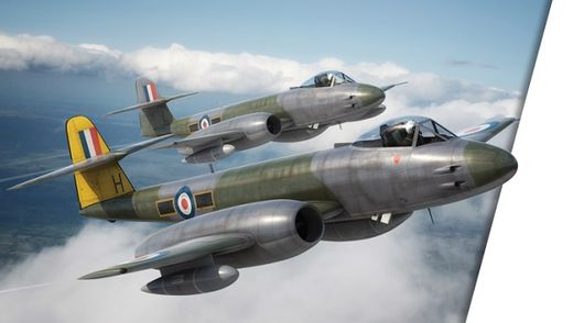 Gloster Meteor F.8 RAF 1/48