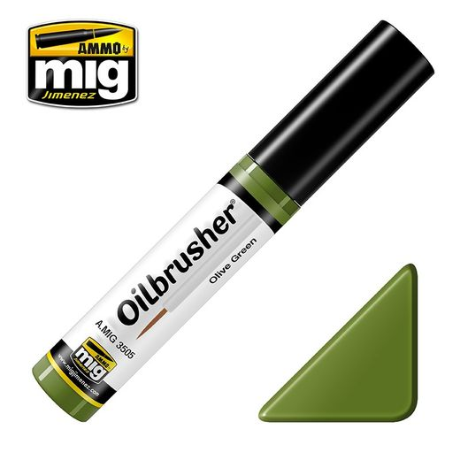 OLIVE GREEN OILBRUSHER