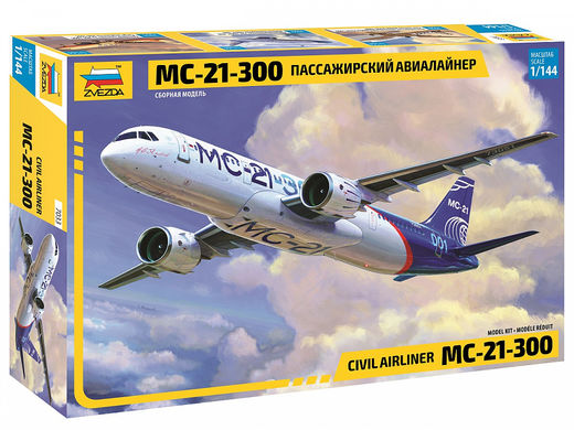 Civil Airliner Irkut MC-21-300 1/144