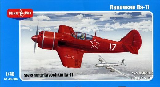 Soviet Fighter Lavochkin LA-11 1/48
