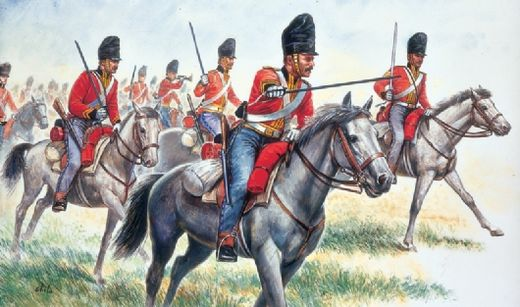 British Heavy Cavalry 1815 1/72