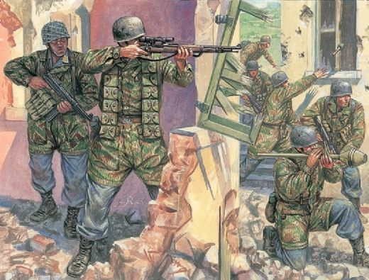 German paratroopers WW2 1/72