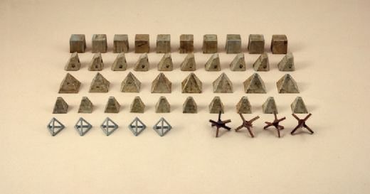 Antitank obstacles 1/72