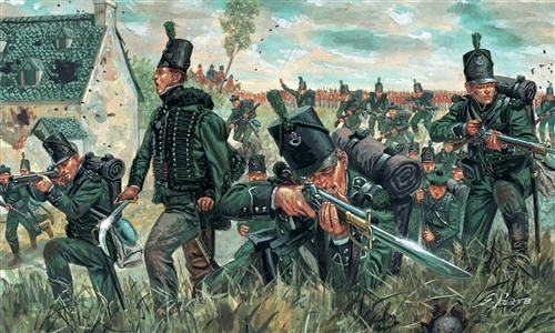 British green jackets 1812 1/72