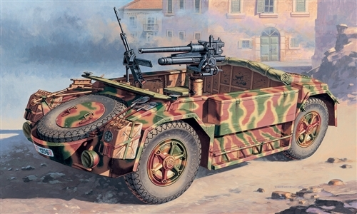 Autoblinda ABM 42 with 47/32 AT gun 1/72