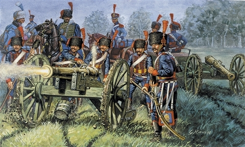 French Artillery 1815 1/72