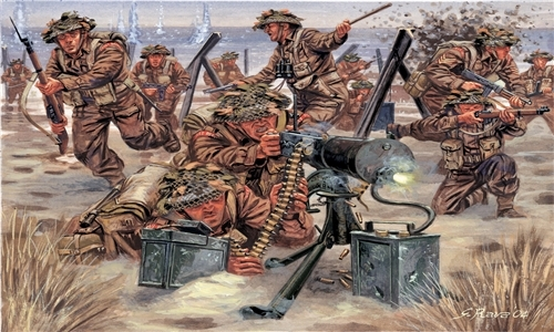 British infantry WW2 1/72