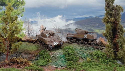 Sherman M4A3 75mm (x2) SNAP 1/72