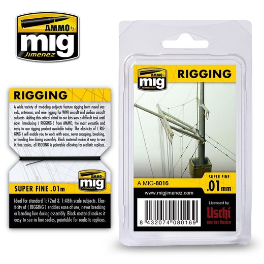 RIGGING – SUPER FINE 0.01 MM - TAKILOINTILANKA 2m
