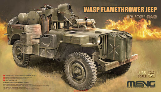 Wasp Flamethower Jeep 1/35