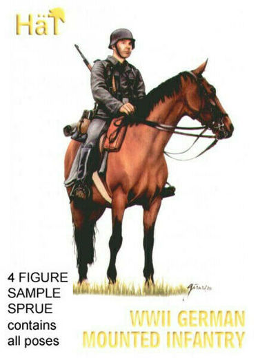 WWII GERMAN MOUNTED INFANTRY 1/72