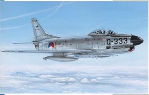 F-86K Sabre Norway, Italy, Netherlands 1/48