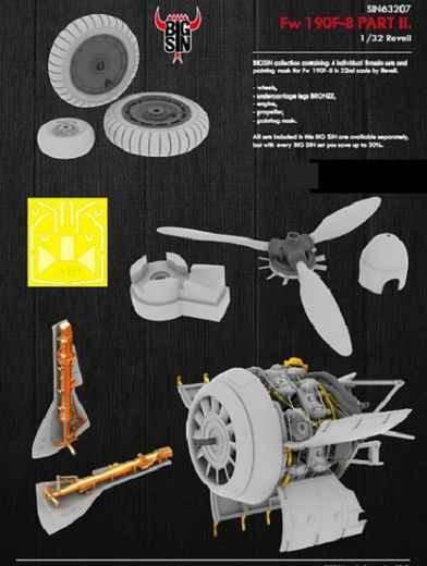 Focke-Wulf FW 190F-8 details (Part 2) for Revell 1/32