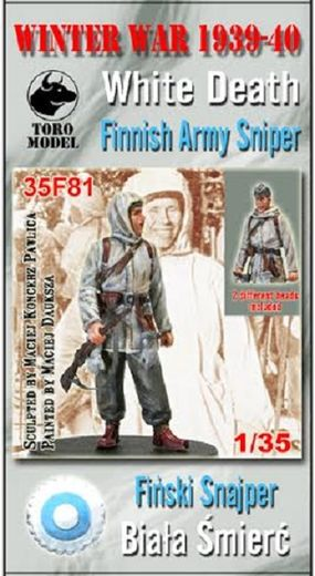 Winter War 1939-40 - Finnish Army Sniper 1/35