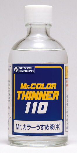 Mr Color Thinner - Ohenne metallivareille 110ml