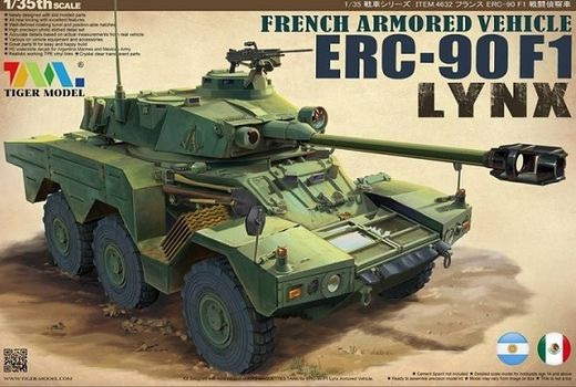French Panhard ERC-90 F1 Lynx armored car  1/35