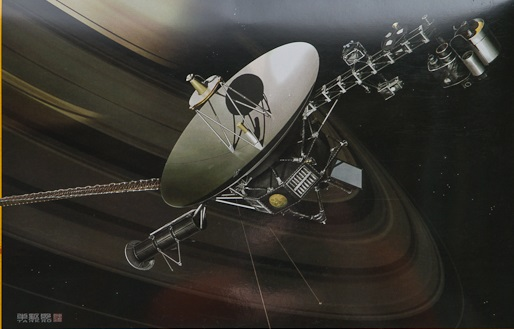 Unmanned Space Probe Voyager 1/48