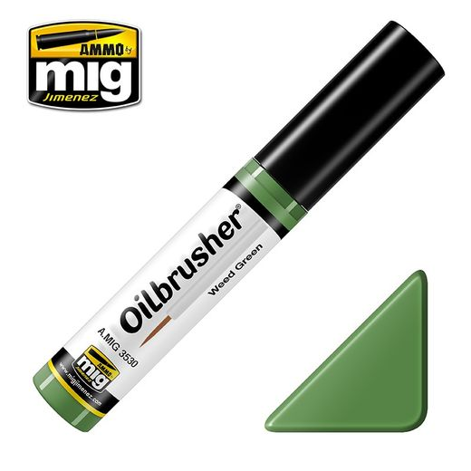 WEED GREEN  OILBRUSHER