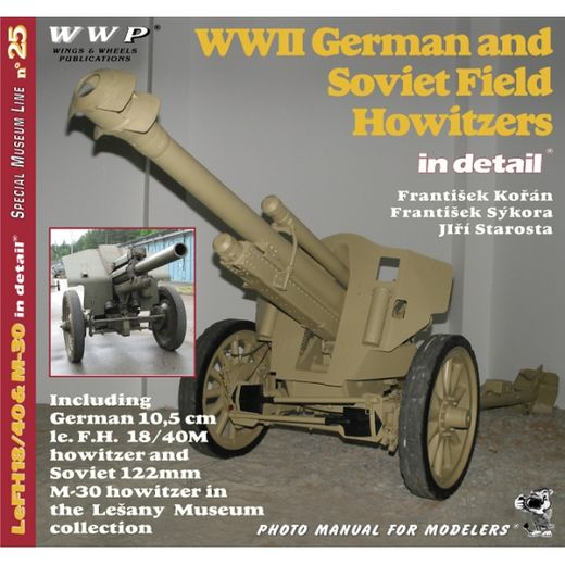WWII German and Soviet Field Howitzers in detail